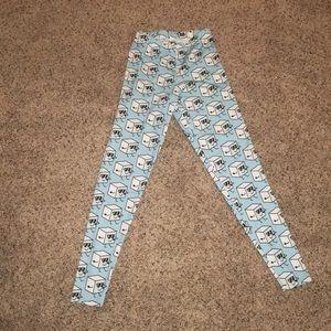 Ice cube leggings